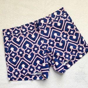 Tracy Negoshian Blue/Pink Shorts